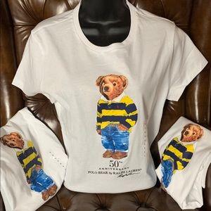 NWT Ralph Lauren Polo Bear, 50th Anniversary Shirt